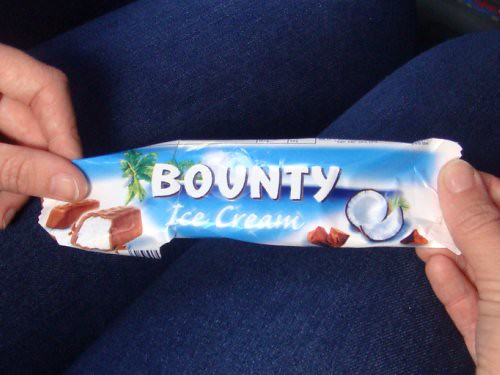 Bounty Bar Ice Cream