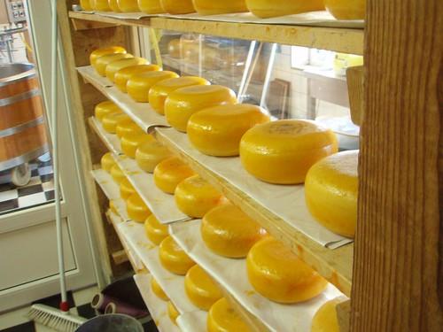 La quesería de Zaanse Schans