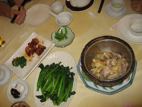 Dinner in Chengdu, China