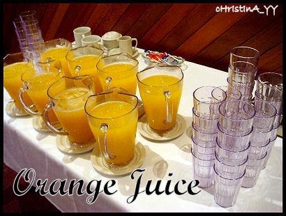 Mentor Lunch: Orange Juice