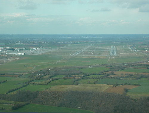 Lyon airport overview