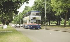 Pype Hayes Park, Chester Road, Erdington, Birmingham, June 2001. (Lady Wulfrun) Tags: park 2001 travel west bus buses june fiat garage small heath service 28 hayes perry barr midlands metrobus twm erdington pype mki 2129 wmt wmpte gog129w