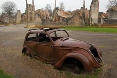 Oradour-sur-Glane, Limousin, France (curreyuk) Tags: france massacre shutters 1001nights limousin oradoursurglane currey frenchresistance top20abandonedautos grahamcurrey curreyuk peachofashot gcuki
