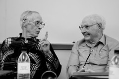 Norm Zehr (L) and  Al Ireson (R) (by Mr Ferguson)