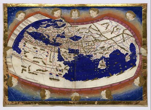 1 -Mapa Mundi de la epoca