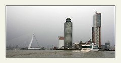 Rotterdam seaport, Rhine estuary (dirk huijssoon) Tags: holland netherlands architecture modern port river rotterdam riverside contemporary delta rhine seaport 5photosaday rhinedelta