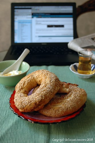My breakfast part 2:simit