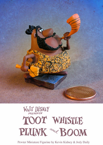 "Disney ""Toot"" Pewter Miniature Figurine"