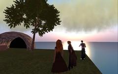Sunrise in Albata (Gwyneth Llewelyn) Tags: secondlife gwyneth llewelyn