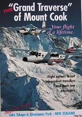 Mount Cook brochure (Grete Howard) Tags: newzealand mountcook