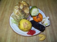 Still life?  I think not. (kthypryn) Tags: stilllife food vegetables dinner florida rottenfood burntfood