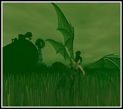 Wheatfield (Kracht Strom) Tags: art photography 3d screenshot sl secondlife untouched windlight wheatfield kracht slwindlight thefaraway viritual krachtstrom viritualworld purewindlight
