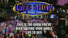 Look, we're on Letterman!! (|ellessu|) Tags: nyc vacation screenshot lateshowwithdavidletterman wereontv