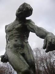 Paris - musee Rodin - grande ombre
