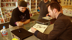 Treasure Island Comics Signing