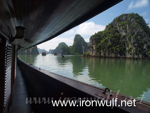 Cruising at Ha Long Bay