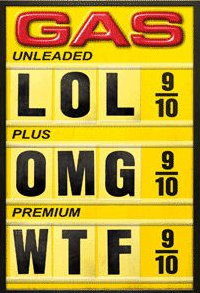 gas prices by Casey Helbling, creative commons license