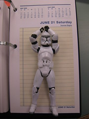 IMG_4155 (ShellyS) Tags: work toys starwars libraries stormtroopers actionfigures offices calendars officeequipment