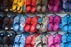 Ugliest Shoes Ever? (Punk Dolphin) Tags: shoes colorful footwear trendy ugly clogs popular unattractive