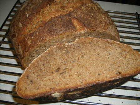 Dark Onion Rye with European Flour