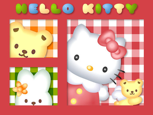 Hello Kitty - Wallpaper