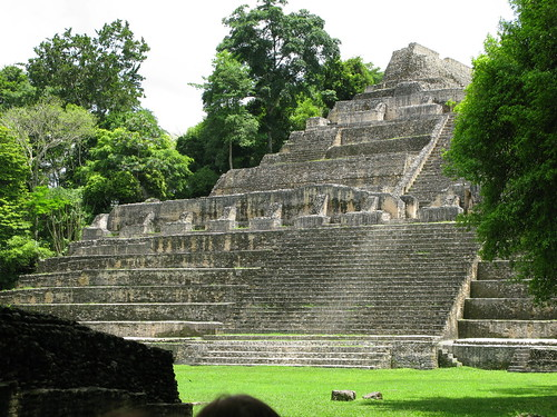 Mayan ruins at Caracol