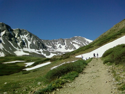 Grays Peak straight ahead