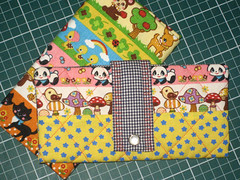 carteira pronta! (Gi  CuteClub) Tags: panda quilt handmade wallet canvas carteira wallets carteiras cutethings japanesefabric feitoamo botomadreprola