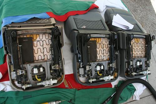 Landtank Seat Modification