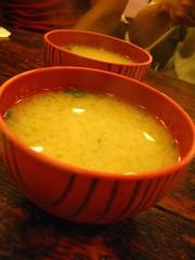 味增湯 送的