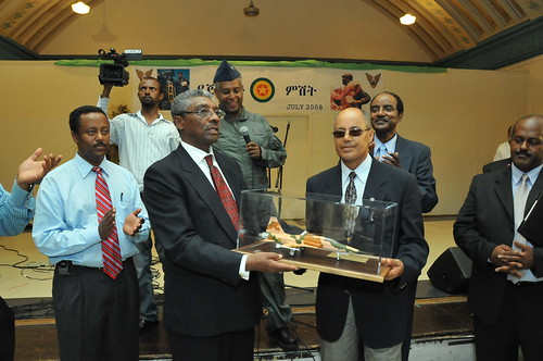 Ethiopian War Hero General Legesse Tefera honored