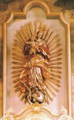 Strahlenmadonna aus der Pfarrkirche Mietingen