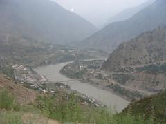 Indus River at Pattan along KKH (Dr. Shahid-Burewala Trekkerz (Mount Everest next)) Tags: pakistan dr shahid burewala