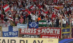 Final UEFA Supercup (sfcfans) Tags: club sevilla ftbol norte ultras biris
