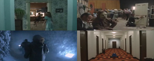 The Shining recreation montage