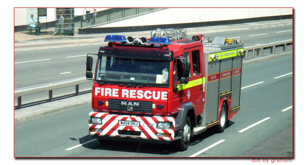 Devon and Somerset Fire Brigade WA04DHJ
