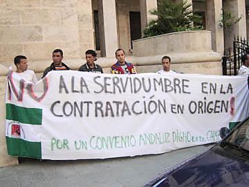 Manifestación contra la directiva de la verguenza