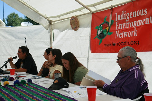 Indigenous Environmental Network Protecting Mother Earth Gathering 2008