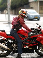 Sissy biker