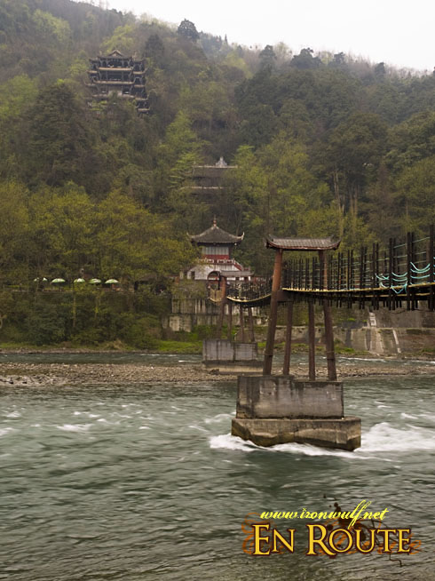 Dujiangyan Hanging Bridges