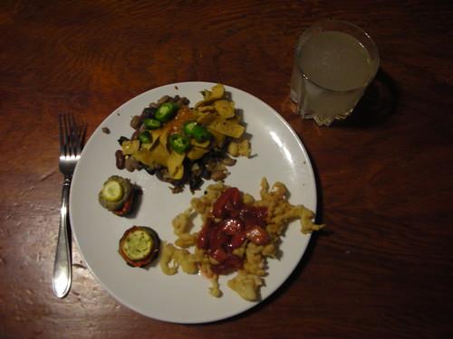 Dinner, August 3