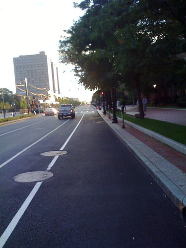 Commonwealth Avenue Bike Lanes