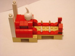 Mosque of The Red Death - Left Side (Fleur De Lego) Tags: lego microscale