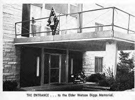 Elder Watson Diggs Memorial House