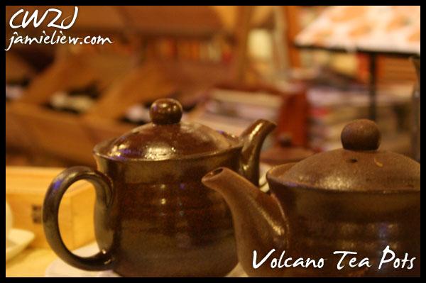 volcano teapots