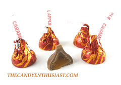 Hershey's Kisses: Caramel Apple