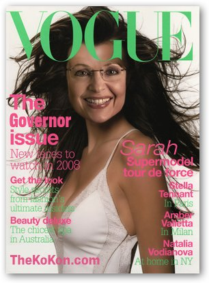 Sarah Palin on Vogue