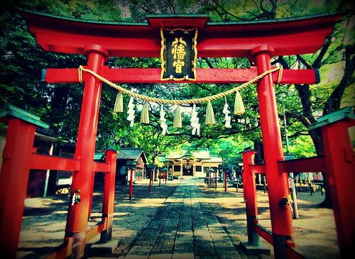 Narumi Hachimangu shrine