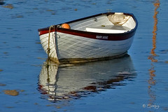 NFK03_003 (ttsjl) Tags: morning autumn red sea summer sun white reflection water sunshine marie anne coast boat early seaside still mary north norfolk sunny calm clear antoinette burnham maryanne staithes overy stiathe ttsjl