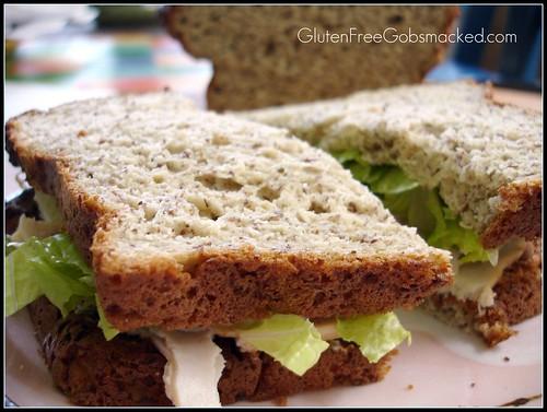 Gluten Free Pepita Bread